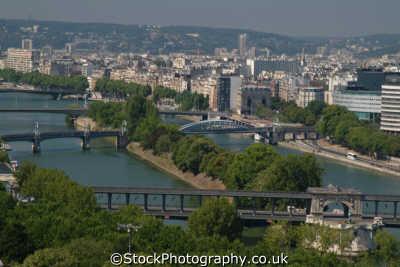 aerial paris seine bridges french european travel river parisienne france la francia frankreich europe