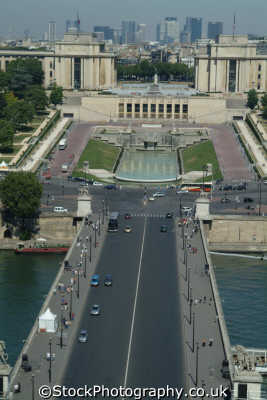 arial paris palais chillot french european travel parisienne france la francia frankreich europe
