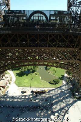 eiffel tower paris looking level french european travel parisienne france la francia frankreich europe