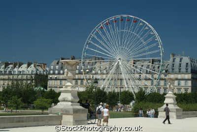 ferris wheel jardin des tuileries paris french european travel parisienne france la francia frankreich europe