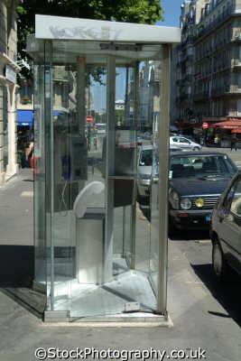 french phone booth paris european travel telecoms parisienne france la francia frankreich europe