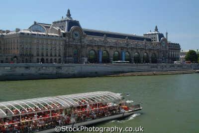 musee orsay seine batobus french european travel paris parisienne france la francia frankreich europe