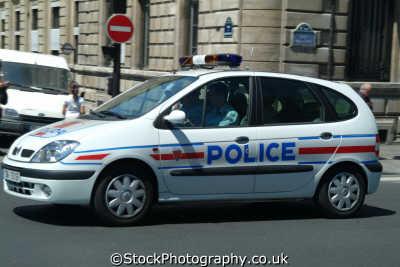 police car paris french european travel parisienne france la francia frankreich europe