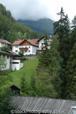 village austrian tyrol alps alpine osterreich european travel austria österreich europe