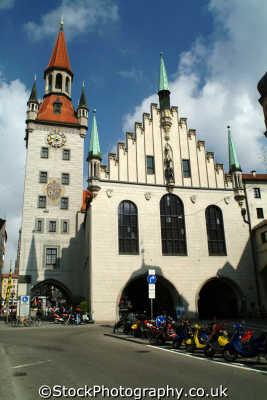 altes rathaus old town hall munich bavaria german deutschland european travel münchen bayern germany europe germanic