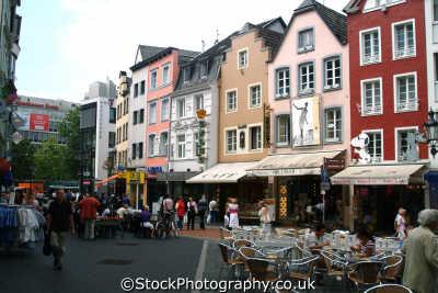 shopping scene bonn north rhine westphalia german deutschland european travel rhineland valley germany europe germanic