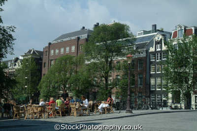 dining bridge amsterdam dutch netherlands european travel holland la hollande holanda olanda europe