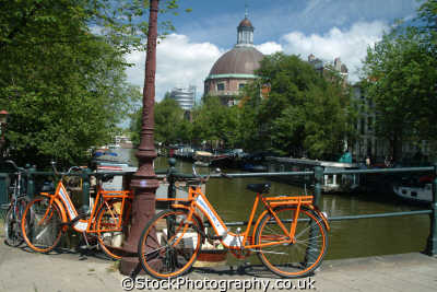 hire bikes amsterdam dutch netherlands european travel holland la hollande holanda olanda europe