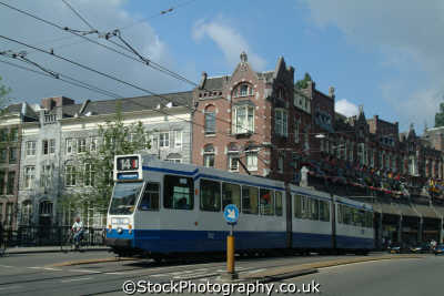 tram westermarkt amsterdam dutch netherlands european travel transport holland la hollande holanda olanda europe