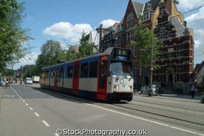 tram amsterdam dutch netherlands european travel transport holland la hollande holanda olanda europe