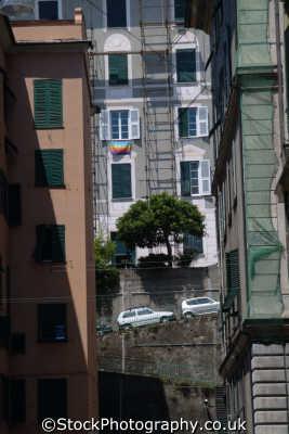 genoa street liguria italian european travel genova italy italien italia italie europe