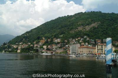 shore lake como lombardy italy italian european travel freshwater italien italia italie europe