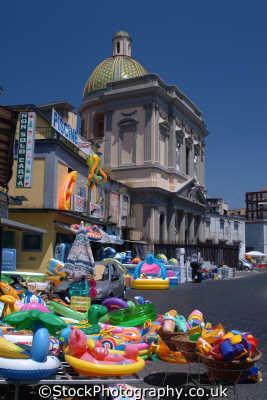 church swimming toys naples southern italy italian european travel napoli napolitan italien italia italie europe
