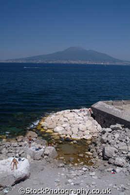 vesuvius golfo di napoli southern italy italian european travel naples napolitan italien italia italie europe