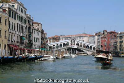grand canal ponte di rialto venice north east italy italian european travel venitian venezia italien italia italie europe