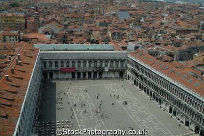 venice aerial piazza san marco north east italy italian european travel venitian venezia italien italia italie europe