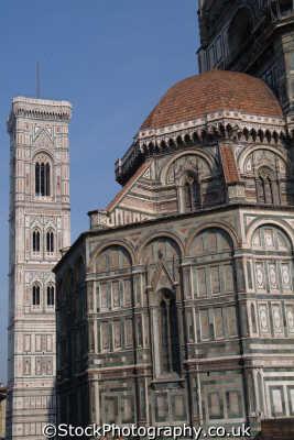 duomo belltower florence tuscany toscana italian european travel cathedral firenze florentine italy italien italia italie europe