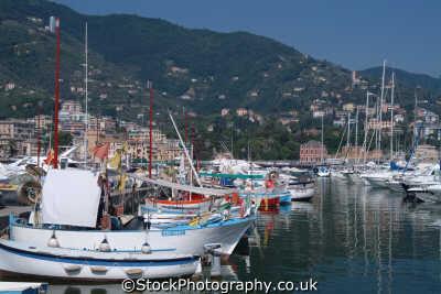 rapallo harbour italian riviera liguria european travel italy italien italia italie europe