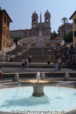 spanish steps rome lazio italian european travel roman roma italy italien italia italie europe