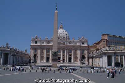 st peter square vatican rome lazio italian european travel religion pope catholic church catholicism roma roman italy italien italia italie europe