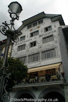 restaurant lucerne swiss suisse european travel luzern switzerland schweiz europe