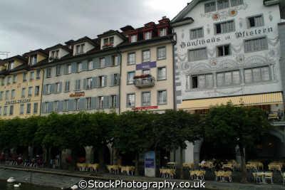 restaurants lucerne swiss suisse european travel cuisine luzern switzerland schweiz europe