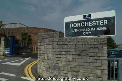 dorchester prison entrance crime police cops uk emergency services dorset england english angleterre inghilterra inglaterra united kingdom british
