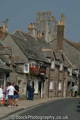 corfe south west england southwest country english uk picturesque quaint dorset angleterre inghilterra inglaterra united kingdom british