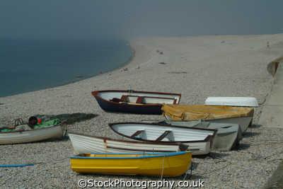 rowing boats chesil beach portland rowboats marine misc. longshore drift dorset england english angleterre inghilterra inglaterra united kingdom british
