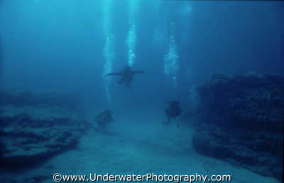 divers sand chute diving people scuba underwater marine visibility viz benny sutton cyprus europe european cypriot