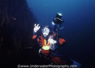 diver collecting specimens st kilda working divers diving people scuba underwater marine academic collect benny sutton scottish borders scotland scotch scots escocia schottland united kingdom british
