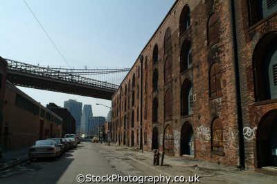brooklyn disused warehouses new york american yankee travel decay poor big apple usa united states america