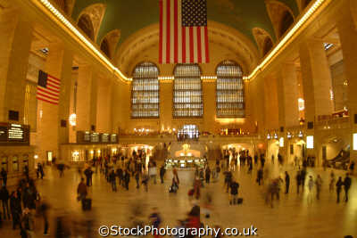 grand central station terminal new york american yankee travel railroad railway big apple usa united states america