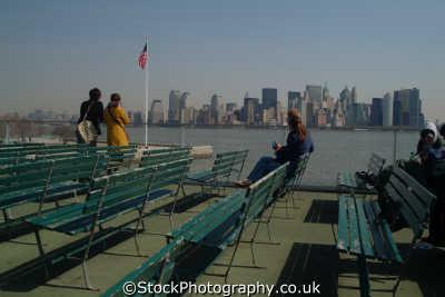 lower manhattan circle line ferry new york american yankee travel big apple usa united states america