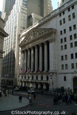 new york stock exchange wall street american yankee travel money markets finance financial big apple usa united states america