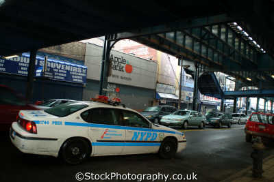 nypd car subway bronx new york american yankee travel police big apple usa united states america