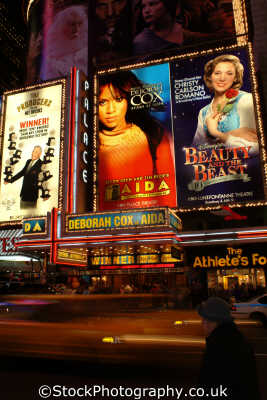 times square broadway new york american yankee travel lights commercialism theatre theater big apple usa united states america