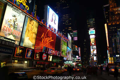 times square new york american yankee travel lights commercialism big apple usa united states america
