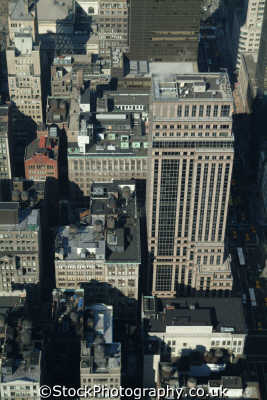 view midtown new york american yankee travel aerial skyscrapers city big apple usa united states america