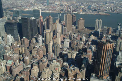 view murray hill manhattan new york american yankee travel aerial skyscrapers city big apple usa united states america