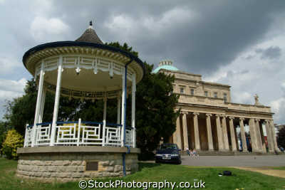 bandstand pump rooms cheltenham british bandstands unusual buildings strange wierd uk spa gloucestershire england english angleterre inghilterra inglaterra united kingdom