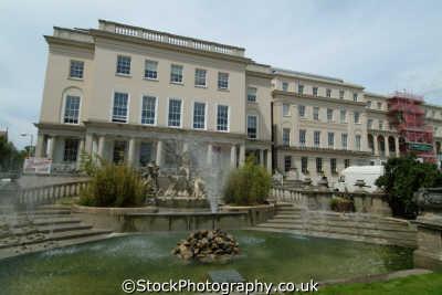 neptunes fountain cheltenham midlands england english uk gloucestershire angleterre inghilterra inglaterra united kingdom british