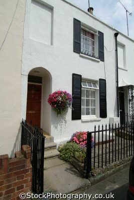 terraced house cheltenham midlands england english uk gloucestershire angleterre inghilterra inglaterra united kingdom british