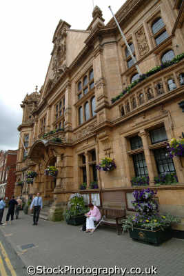 town hall hereford uk halls government buildings british architecture architectural herefordshire england english angleterre inghilterra inglaterra united kingdom