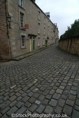 cobbled street lancaster north west northwest england english uk lancashire lancs angleterre inghilterra inglaterra united kingdom british