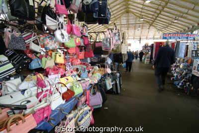 bag stall preston market north west northwest england english uk lancashire lancs angleterre inghilterra inglaterra united kingdom british