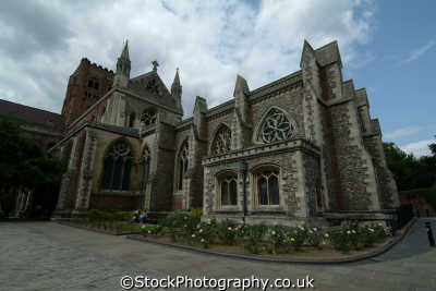 st albans cathedral uk cathedrals worship religion christian british architecture architectural buildings hertfordshire herts england english angleterre inghilterra inglaterra united kingdom