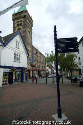 abergavenny high street welsh nationalities nations misc. monmouthshire wales país gales united kingdom british