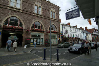 abergavenny market entrance uk markets traders commercial buildings retailers british architecture architectural monmouthshire wales welsh país gales united kingdom