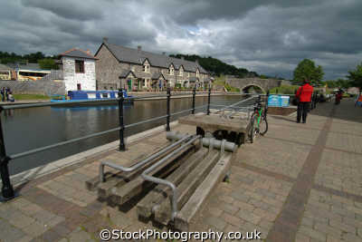 brecon canal basin marine misc. powys wales welsh país gales united kingdom british